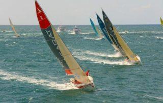 La intensidad del viento para navegar